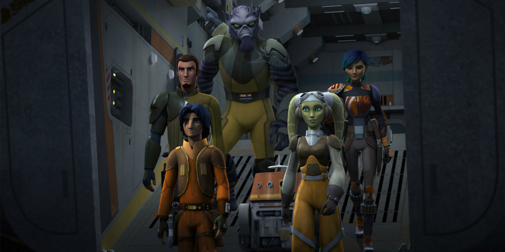 Star Wars Rebels Terceira Temporada